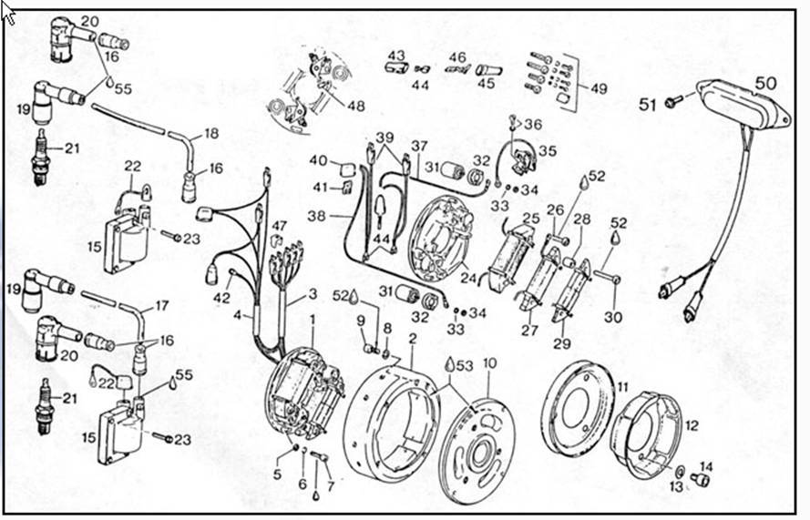 pouduciel moteur – Rotax 600 Engine Diagram